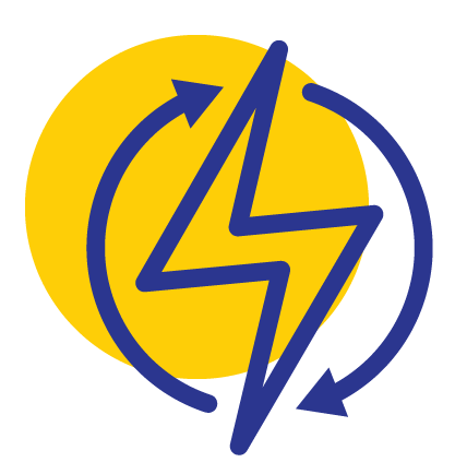 LPE Electricity Icon Yellow